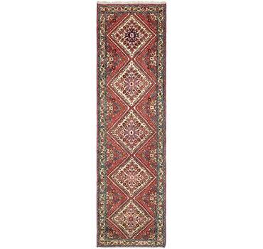 2' 7 x 9' 6 Roodbar Persian Runner Rug main image