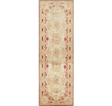 Image of 6' 8 x 26' 3 Classic Aubusson Runner...