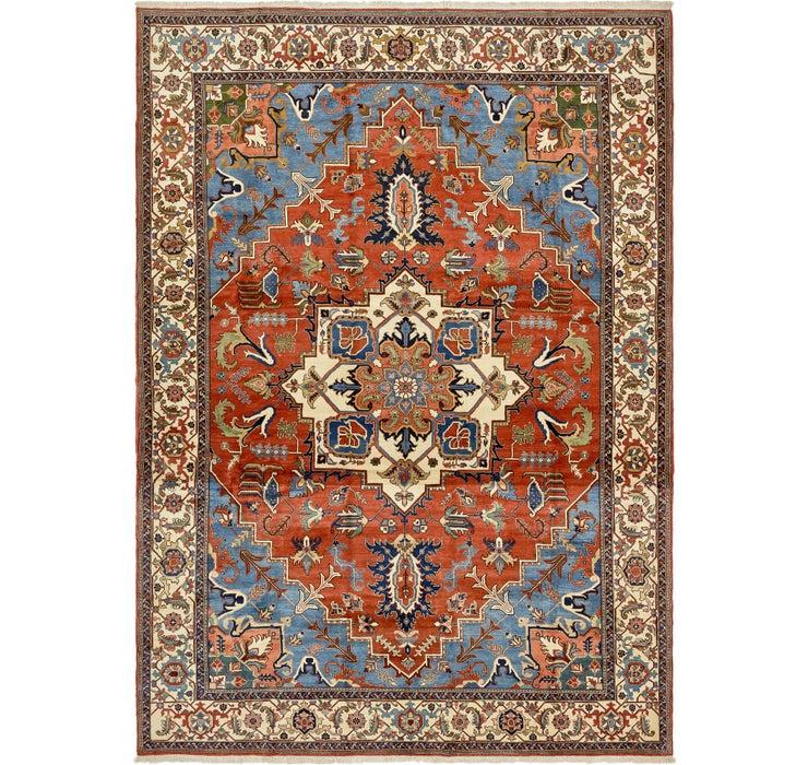 Image of 442cm x 610cm Heriz Persian Rug
