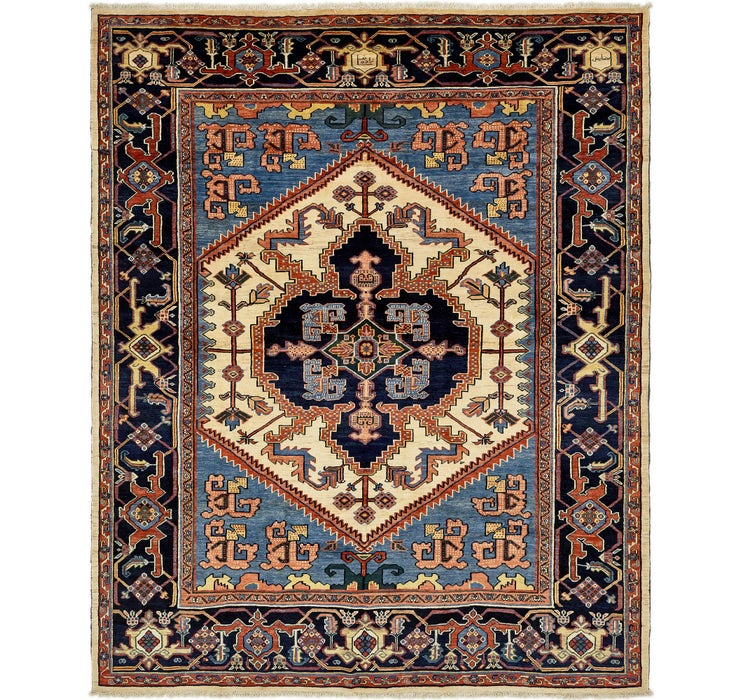 380cm x 465cm Heriz Persian Rug