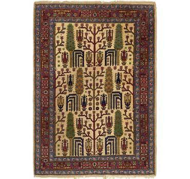 Image of 3' 10 x 5' 5 Romani Rug