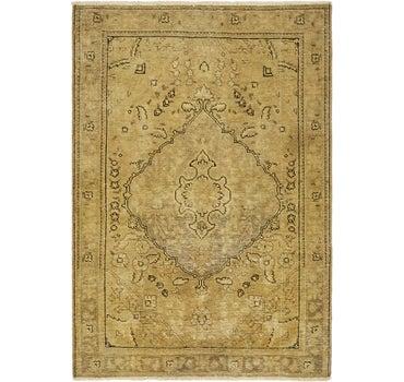 3' 4 x 4' 9 Ultra Vintage Persian Rug main image