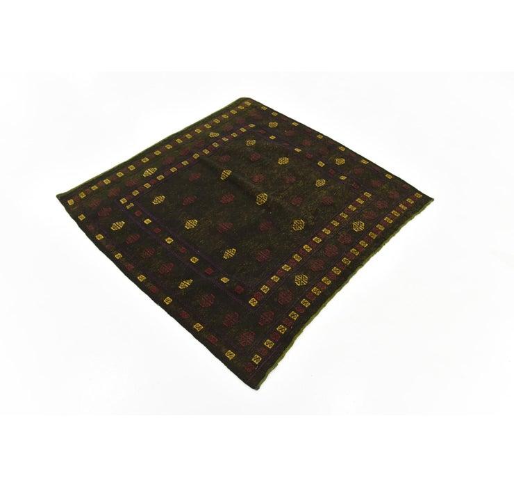 122cm x 130cm Sumak Square Rug