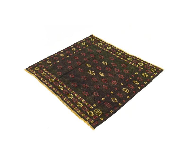 127cm x 130cm Sumak Square Rug