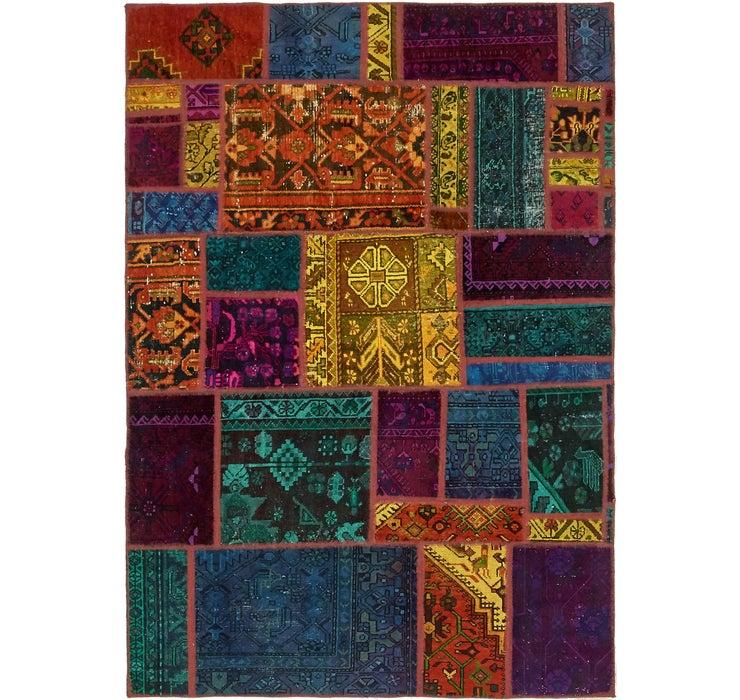152cm x 220cm Ultra Vintage Persian Rug