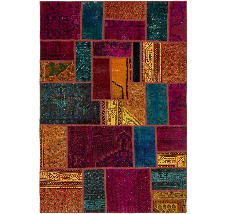 5' 6 x 8' Ultra Vintage Persian Rug
