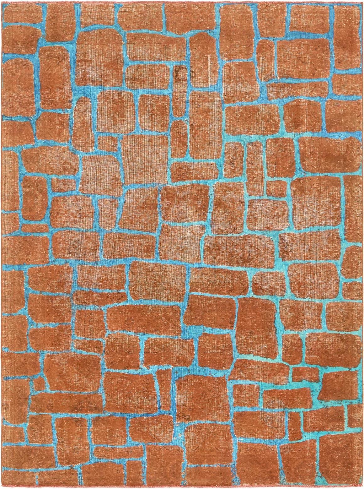 6' 8 x 9' 3 Ultra Vintage Persian Rug main image
