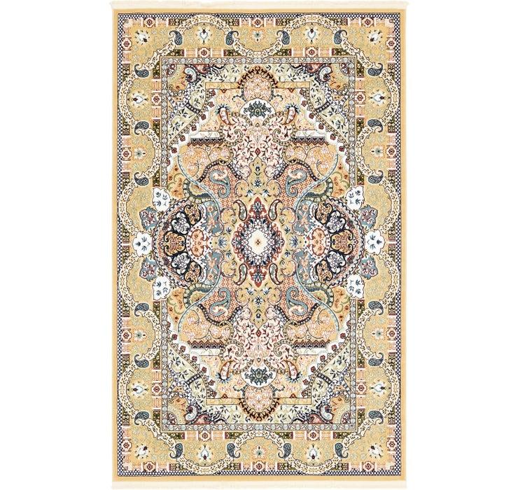 Image of 152cm x 250cm Tabriz Design Rug