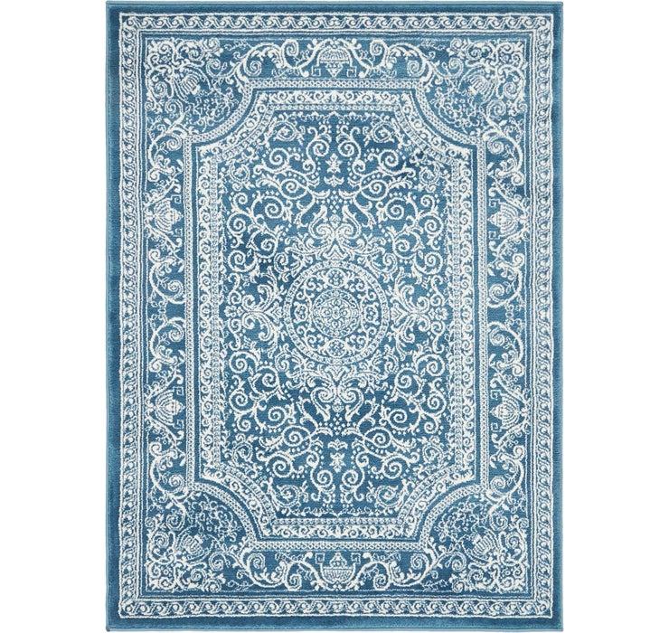 3' 7 x 5' Mashad Design Rug