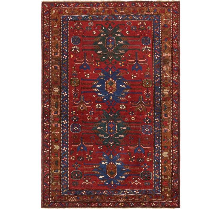 5' 7 x 8' 7 Kazak Oriental Rug