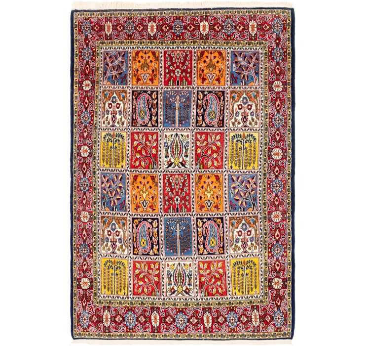 Image of 135cm x 205cm Qom Persian Rug