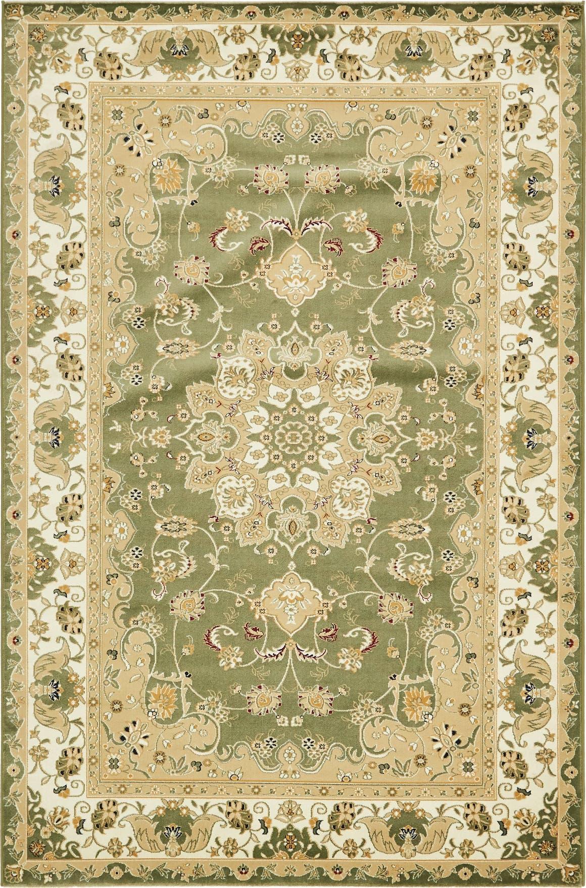 6' 3 x 9' 7 Tabriz Design Rug main image