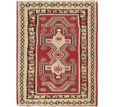 Image of 5' x 6' 7 Kilim Fars Rug