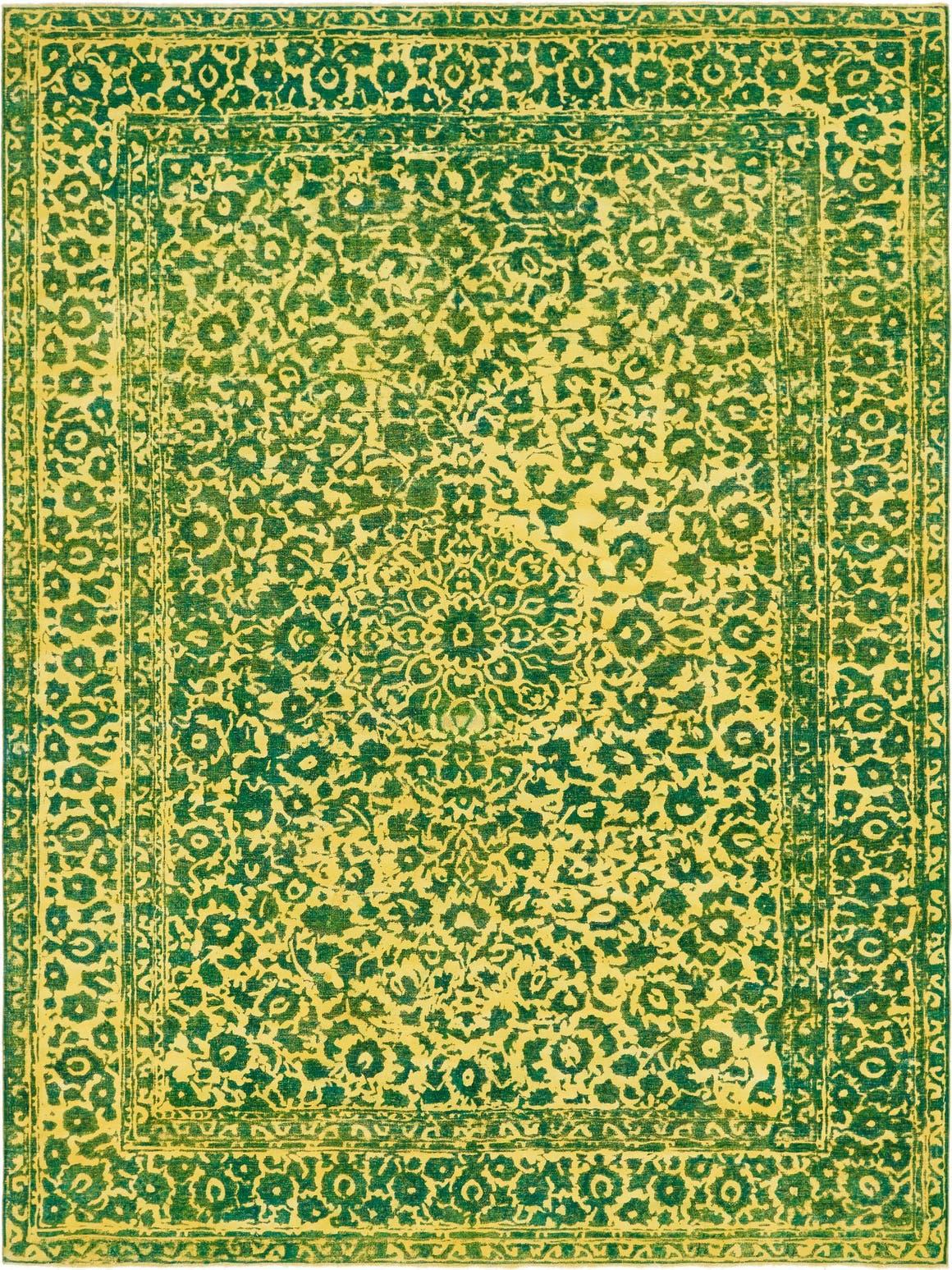 Ultra Vintage Persian Rug