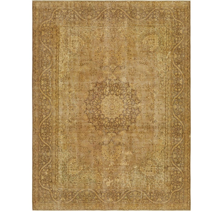 9' 10 x 13' Ultra Vintage Persian Rug