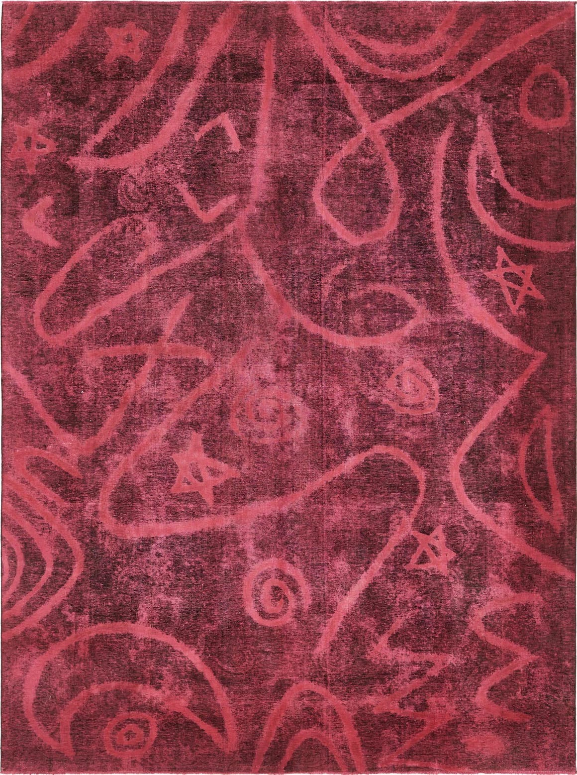 9' 4 x 12' 10 Ultra Vintage Persian Rug main image