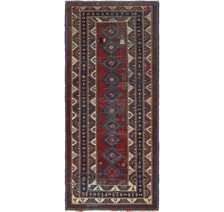 4' 10 x 11' 5 Shiraz Persian Runner Rug