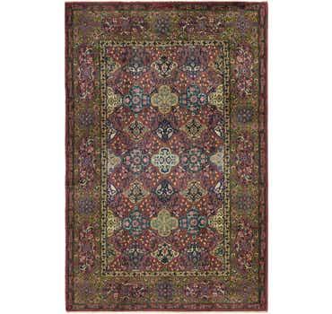 Image of 6' 4 x 9' 6 Kashmir Oriental Rug