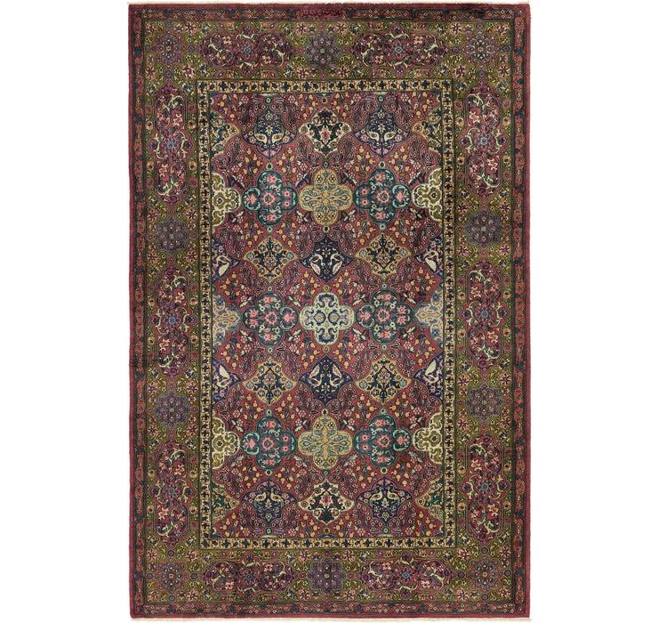 Image of 193cm x 290cm Kashmir Oriental Rug