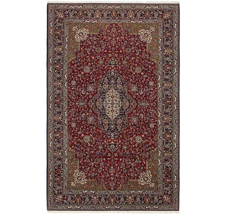 213cm x 345cm Qom Persian Rug