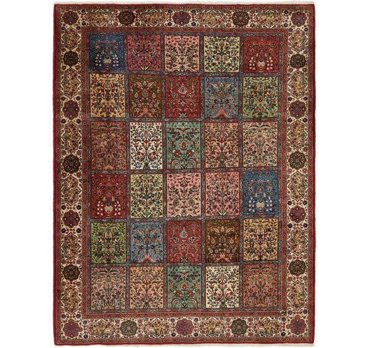290cm x 355cm Sarough Persian Rug