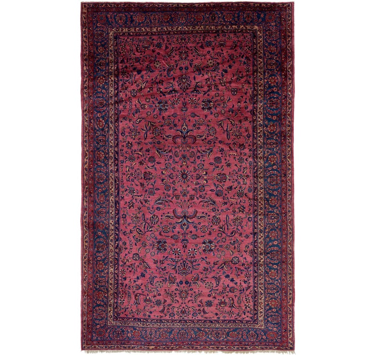 12' x 20' Sarough Persian Rug