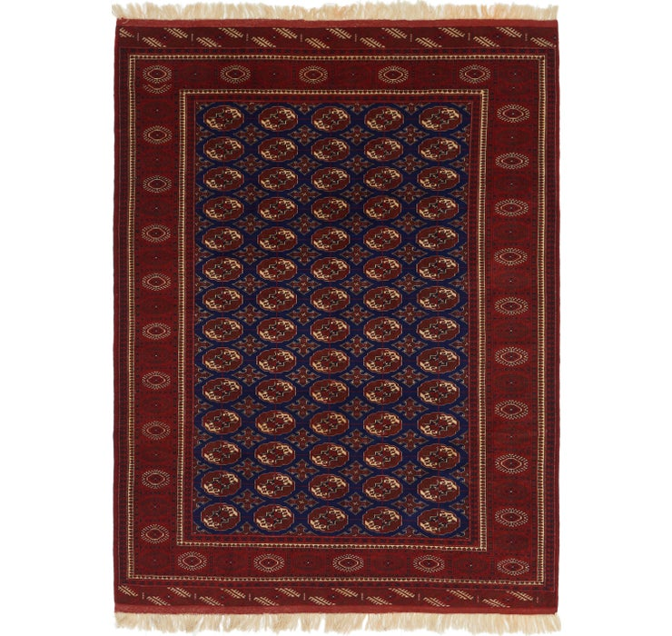 7' x 9' 7 Torkaman Persian Rug