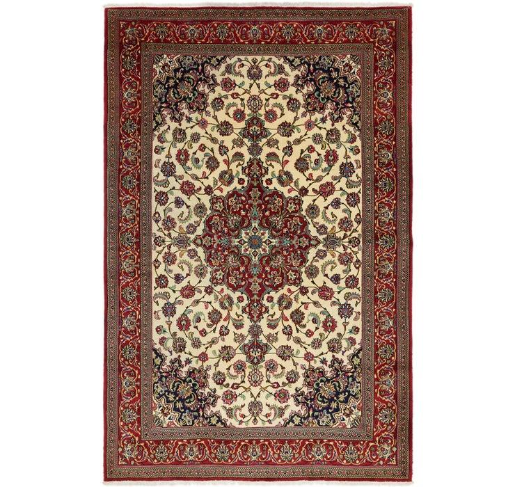203cm x 312cm Qom Persian Rug