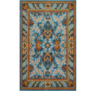 Image of 5' x 7' 10 Meshkabad Design Rug