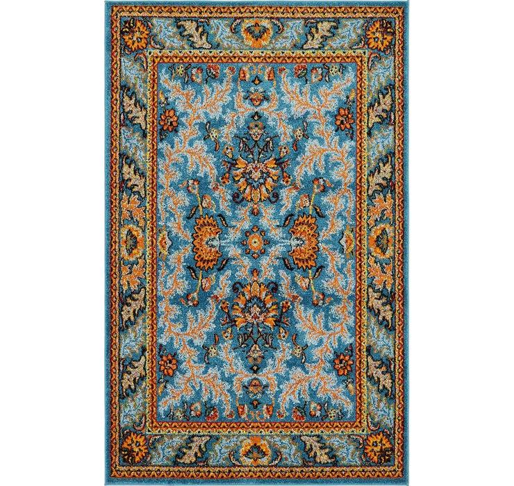 Image of 152cm x 240cm Meshkabad Design Rug