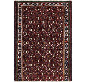 3' x 4' 3 Tabriz Persian Rug main image