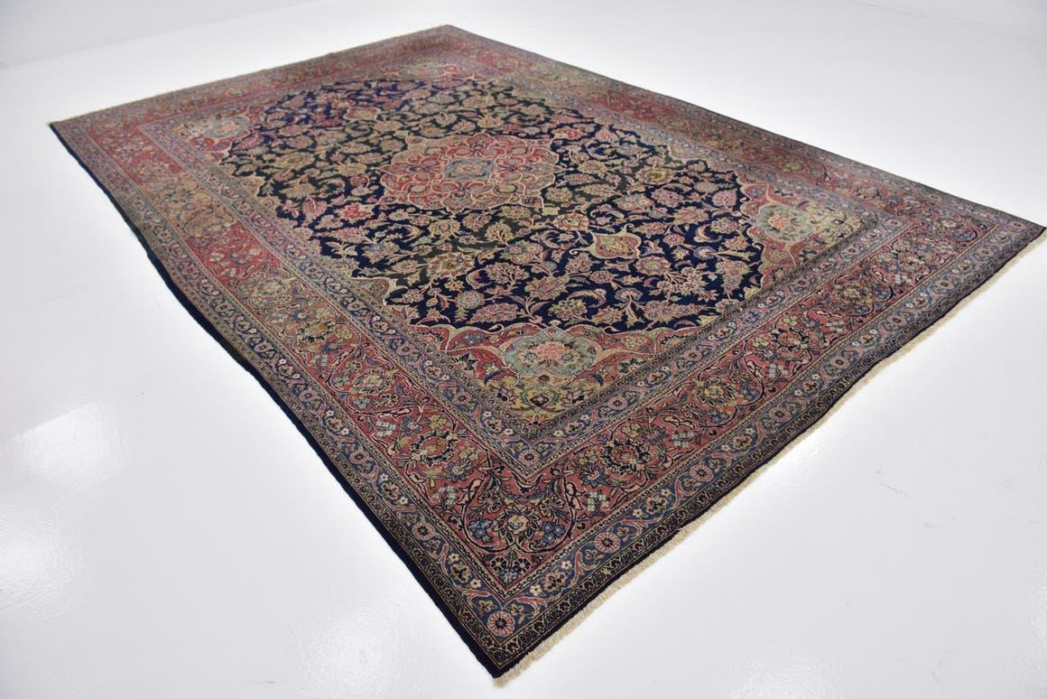 7' 9 x 11' 7 Kashan Persian Rug main image