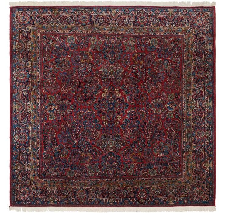 10' x 10' 4 Sarough Persian Square ...