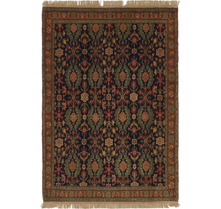 165cm x 245cm Varamin Persian Rug
