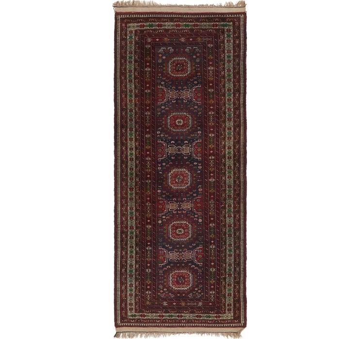 3' 10 x 9' 7 Shiraz Persian Runner Rug