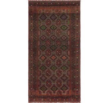 4' 9 x 9' 8 Shiraz Persian Runner Rug main image