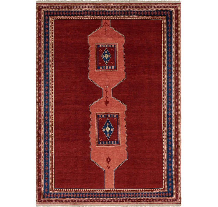 8' 5 x 11' 10 Shiraz Persian Rug