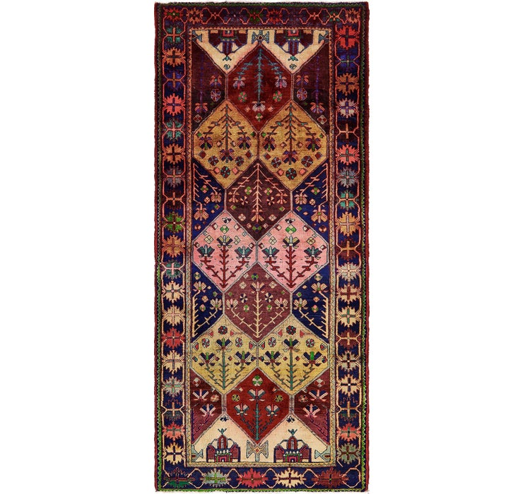 132cm x 312cm Shiraz Persian Runner Rug
