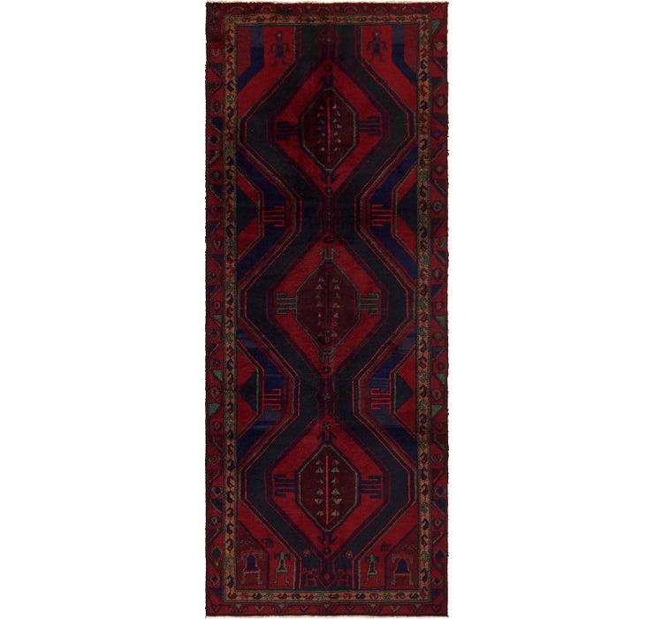 3' 8 x 9' 8 Sirjan Persian Runner Rug