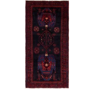 4' 7 x 9' 5 Meshkin Persian Runner Rug main image