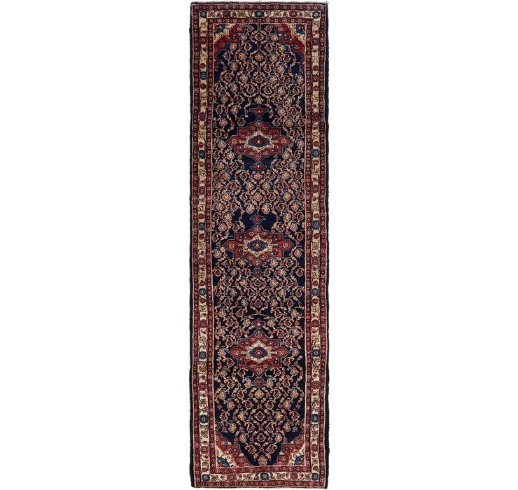 3' 3 x 12' 10 Mahal Persian Runner Rug