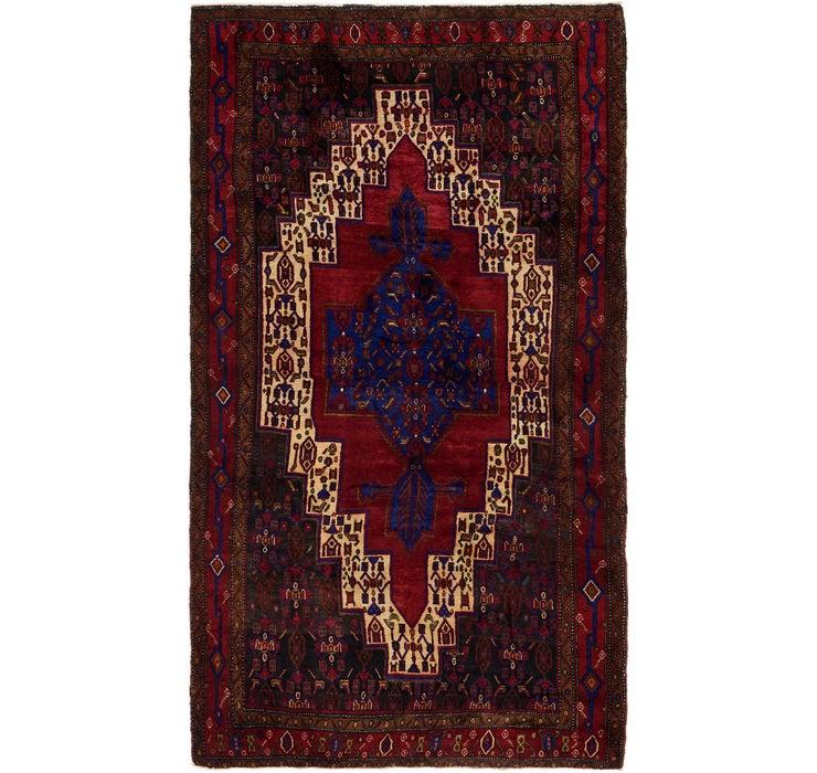 163cm x 297cm Sanandaj Persian Rug