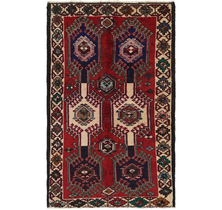 122cm x 195cm Ghoochan Persian Rug