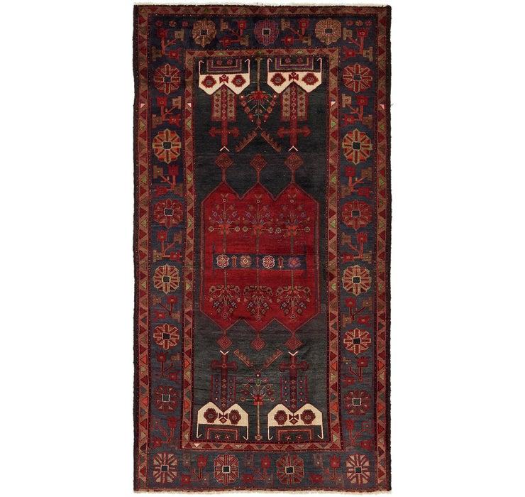 5' x 9' 9 Sirjan Persian Runner Rug