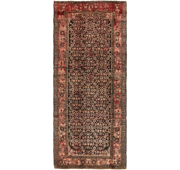 127cm x 312cm Hossainabad Persian Run...