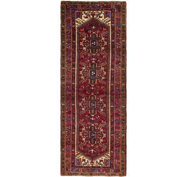 Image of 3' 9 x 10' 6 Meshkin Persian Runner ...