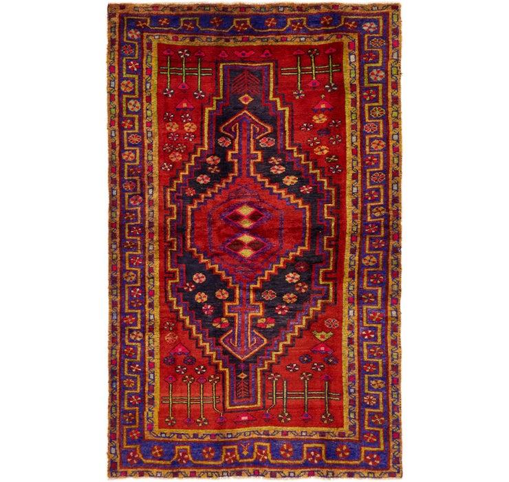 4' 7 x 7' 4 Hamedan Persian Rug