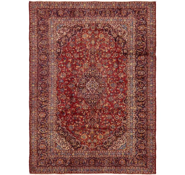9' 8 x 13' 5 Kashan Persian Rug