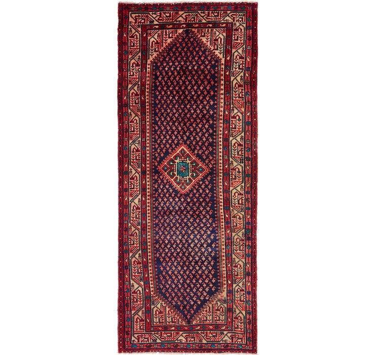Image of 3' 6 x 9' 9 Mahal Persian Runner Rug