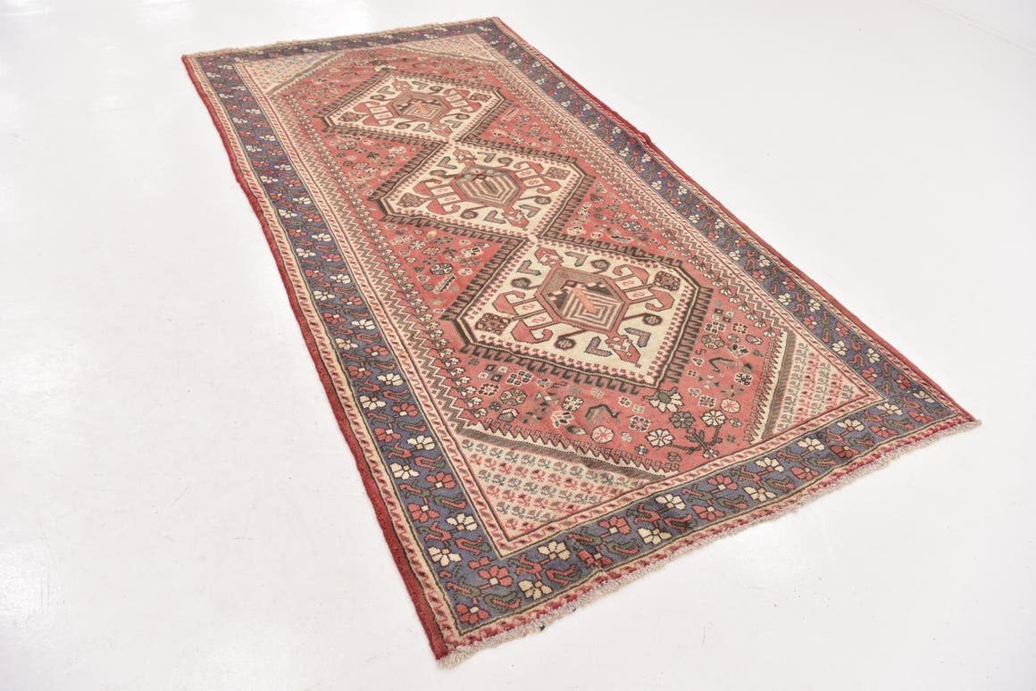 5' x 9' 9 Shiraz Persian Runner Rug main image